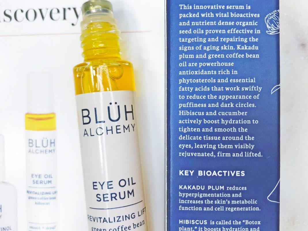 Bluh Alchemy Eye Oil Serum
