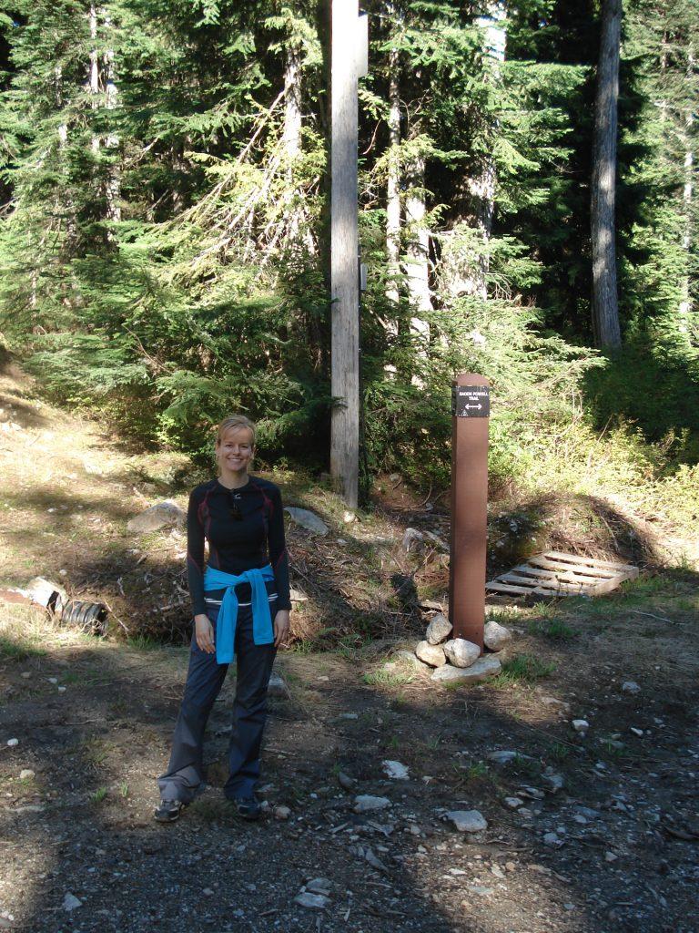 Hiking ve Vancouveru
